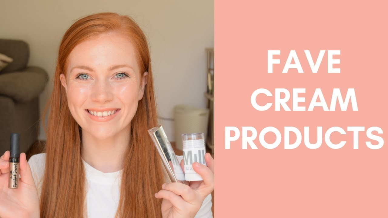 Favourite Cream Makeup Products | Makeup For Redheads | Simply Redhead