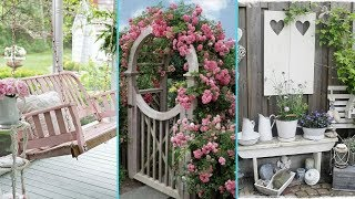 ❤ DIY Shabby Chic Garden decor Ideas 2017 ❤| Home decor & Interior design| Flamingo mango|