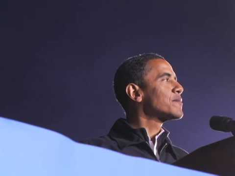 Barack in Prince William County, VA: Fired Up, Ready to Go