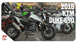 6. 2018 KTM Duke 690 | First Ride