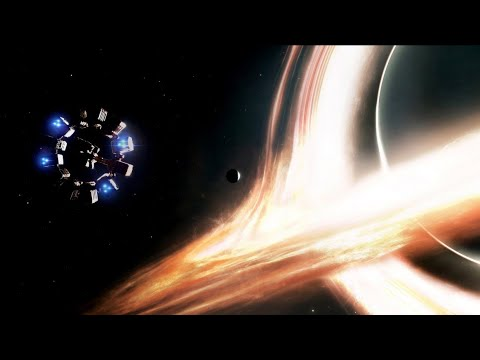 Black Hole Scene - Interstellar