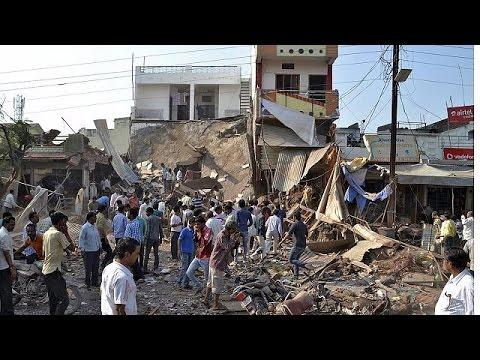 Ινδία: Δεκάδες νεκροί από έκρηξη φιάλης υγραερίου σε εστιατόριο