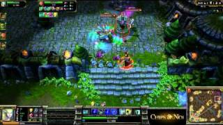 (HD054) 5c5 Final PowerLeague -part 3- League Of Legends Replay [FR]