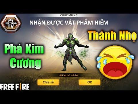 [Garena Free Fire] Phá Kim Cương Với Vòng Quay Kim Cương Sát Thủ Sinh Học | Lưu Trung TV - Thời lượng: 11:00.