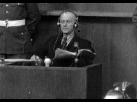 Der Nürnberger Prozess: Karl Dönitz - nach den Anklagep ...