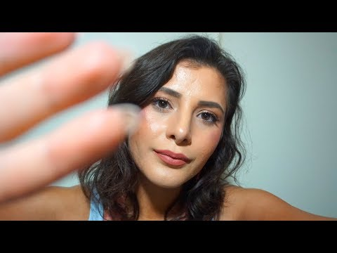 ASMR Helping You Relax | Hand Movements | Hair Brushing | Face Brushing