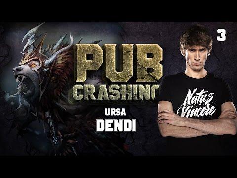 Pubs Crashing: Dendi on Ursa vol.3