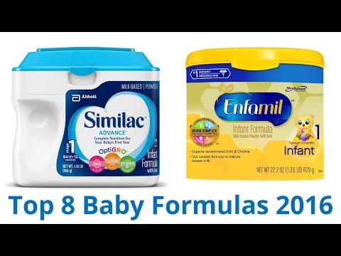 8 Best Baby Formulas\u200e 2016 (видео)