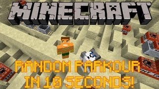 HOW TO: RANDOM PARKOUR IN LESS THAN 10 SECONDS!