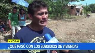 SUBSIDIOS DE VIVIENDA DE LA CHAPARRERA EMBOLATADOS