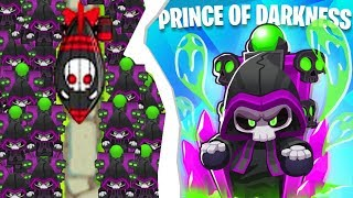 Bloons TD 6 - TIER 5 Prince Of Darkness Tower (UNDEAD Bloons) | JeromeASF