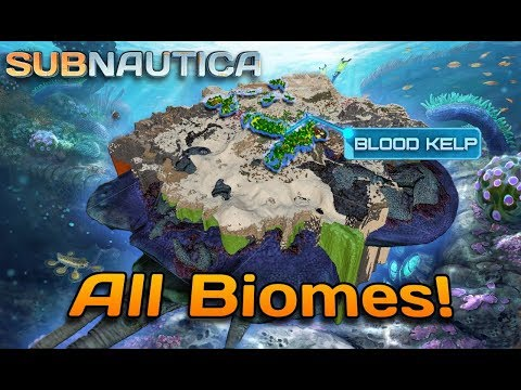 ALL BIOMES in Subnautica 1.0 | Full release