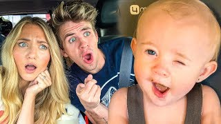 Video Baby Posie's Hilarious Reaction Eating Nasty Baby Food For 1st Time!!! MP3, 3GP, MP4, WEBM, AVI, FLV Juli 2019