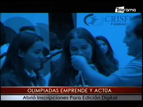 Olimpiadas emprende y actúa abrió inscripciones para edición digital