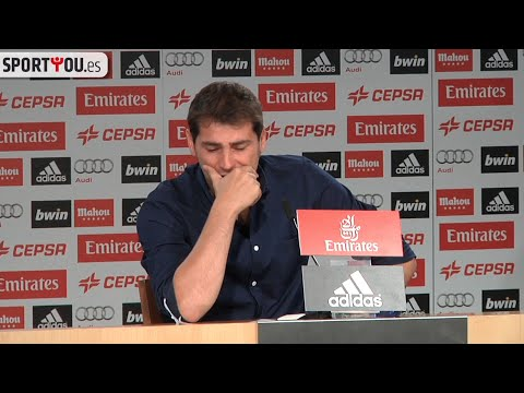 La despedida completa de Iker Casillas en el Real Madrid