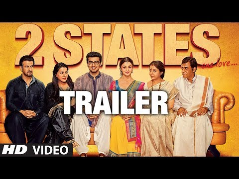 2 States Official Trailer Releasing 18 April 2014 | Arjun Kapoor, Alia Bhatt 2 States Official Trailer Releasing 18 April 2014 | Arjun Kapoor, Alia Bhatt
