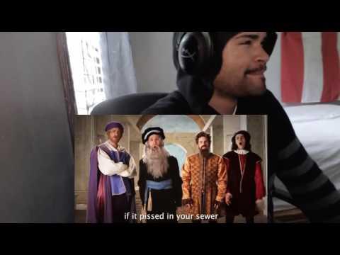 Artists vs TMNT. Epic Rap Battles of History Season 3 Finale. REACTION!!!