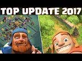 Clash of Clans ☆ TOP UPDATE 2017