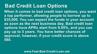 What Options Are There For Getting A $10,000 Loan With Bad Credit
