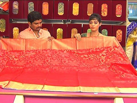 Latest Pattu and Fancy Sarees Collection | Sogasu Chuda Tarama | Vanitha TV 20 July 2015 11 01 AM