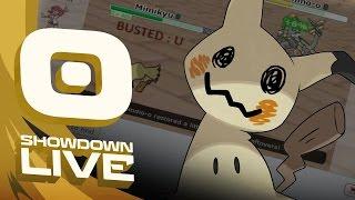 Pokemon Sun and Moon! Showdown Live: Enter Mimikyu - Mimikyu Showcase! by PokeaimMD