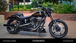 5. Harley CVO Pro Street Breakout Test