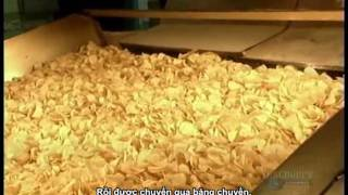 How to make potato chips - Factory Production [vietsub]