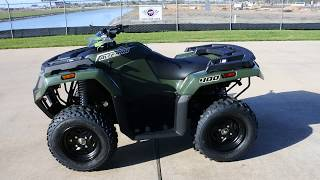 2. $4,199:  2017 Textron / Arctic Cat Alterra 400 4x4 Green Overview and Review