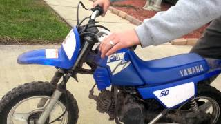 5. Yamaha PW50 first kick, cold start for sale$500 negotiable