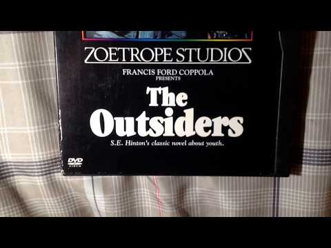 THE OUTSIDERS. HINTON. LOWE, SWAYZE, DILLON, MACCHIO, HOWELL, CRUISE, ESTEVEZ. CLASSIC MOVIE DVD