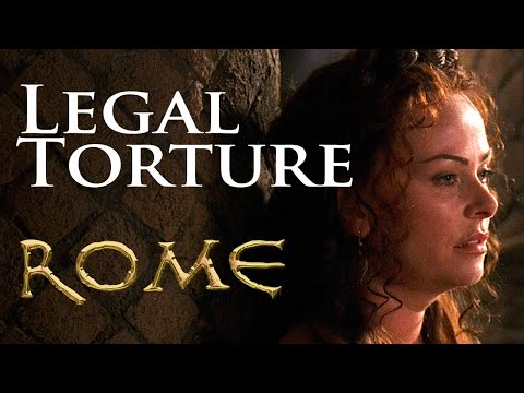 """Rome"" – Atia of the Julii practices ""Legal Torture"" HD [ENG] subs"