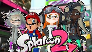 If Mario was in... Splatoon 2 (FANMADE)