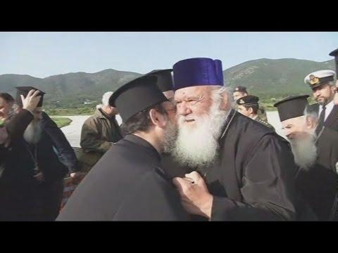 Στην Λέσβο ο Αρχιεπίσκοπος Ιερώνυμος
