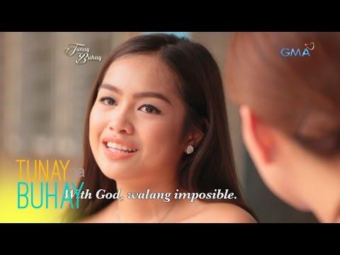 Tunay na Buhay: Denise Barbacena, emosyonal na ibinahagi ang aral ng kaniyang 'Tunay na Buhay'