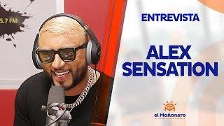 Entrevista a Alex Sensation en El Mañanero