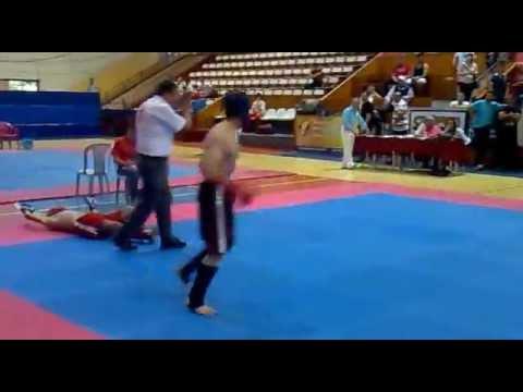Taner Temel Kick Boks Maçı Müthiş Nakavt (видео)