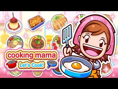 Cooking Mama: Let's Cook! Making French Fries And Sushi Balls Video Game For Kids
