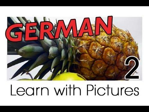 Learn German – German Fruit Vocabulary