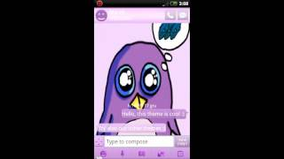Theme Penguin for GO SMS Pro YouTube video