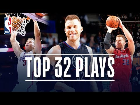 Video: Blake Griffin's Top 32 Plays With The LA Clippers!