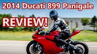 1. 2014 Ducati 899 Panigale Review!