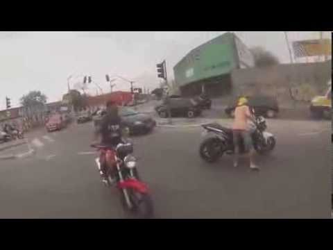 asesinato en vivo de ladron por robar moto