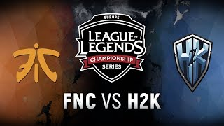 Video FNC vs. H2K - Week 6 Day 1 | EU LCS Spring Split |  Fnatic vs. H2k-Gaming (2018) MP3, 3GP, MP4, WEBM, AVI, FLV Juni 2018
