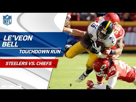 Video: Le'Veon Bell Carries Pittsburgh for Huge TD Drive! | Steelers vs. Chiefs | NFL Wk 6 Highlights