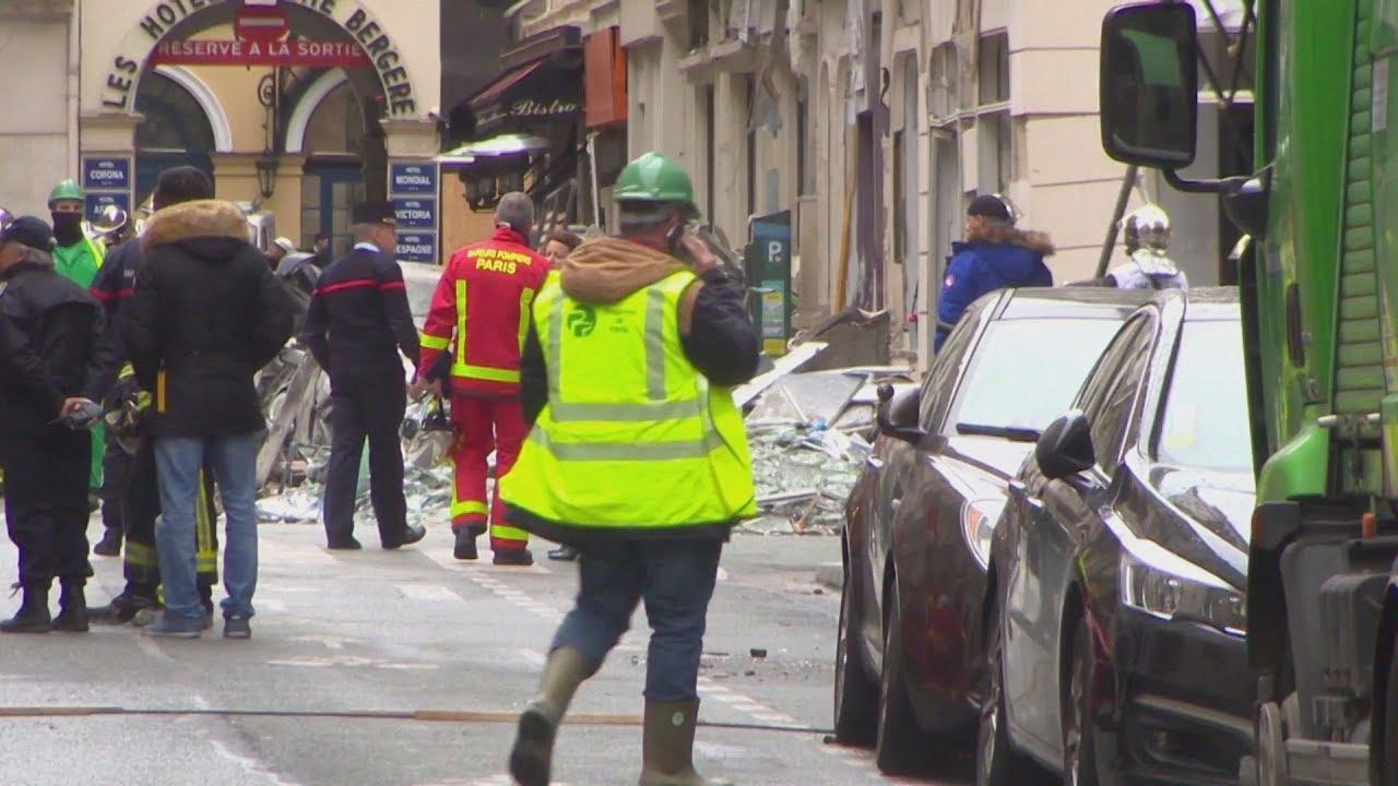 Ένα άτομο παραμένει αγνοούμενο μετά την έκρηξη αερίου στο κέντρο του Παρισιού