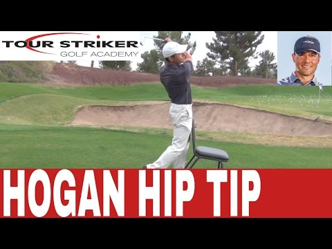 Tour Striker Golf Academy With Martin Chuck – Ben Hogan Hip Action