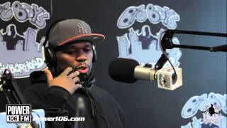 "50 Cent tells Big Boy why he dissed Game on ""My Life"""
