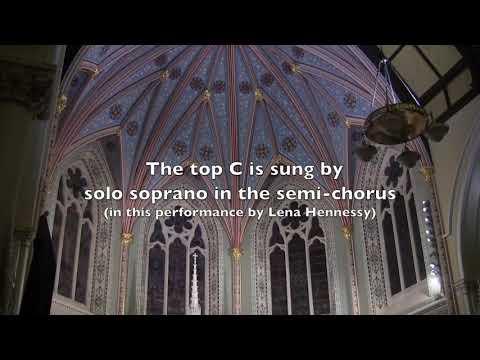 Allegri's Miserere, The Lassus Scholars during Tenebrae 2018 видео
