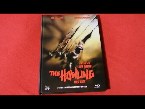 THE HOWLING -das Tier- Mediabook Blu-Ray Joe Dante mit komplettem Bonusmaterial!!! 84