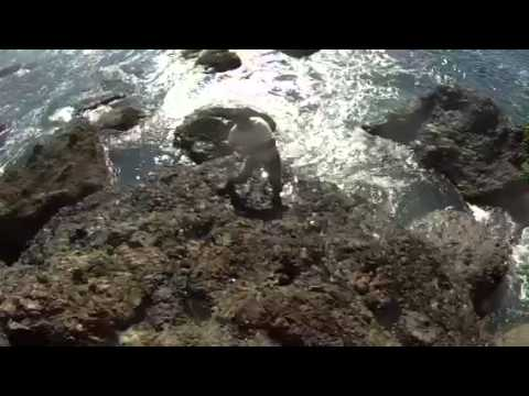 Surf Fishing on the Oregon Coast – Jan 2014
